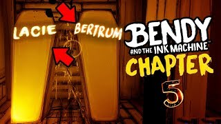NEW COFFINS FOUND! YOU WONT BELIEVE WHOS IN THEM... || Bendy and the Ink Machine Chapter 5 SECRETS