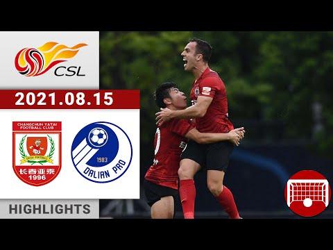 Changchun Yatai Dalian Pro Goals And Highlights