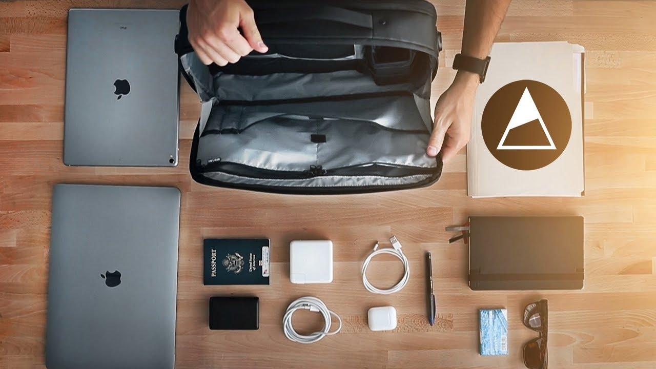 The NOMATIC Laptop Bag Walk Through! How to Use it! - YouTube 27fdd065e1e3b