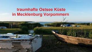 traumhafte Ostsee Küste in Mecklenburg Vorpommern Lubmin Kröslin Freest