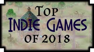 Top Indie Games of 2018