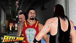 vuclip WWE 2K17 Fastlane 2017 Story - Roman Reigns vs Braun Strowman & Undertaker Destroys Reigns!