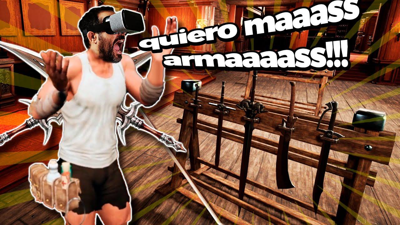 El maestro luchador, herrero y minero de armas | Master Bladesmith VR
