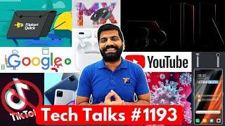 Tech Talks #1193 - iPhone 12 Leaks, Samsung 5 Products, Moto Razr 2020, Realme C15, TikTok AI Quits