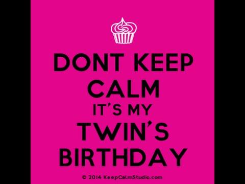 Happy Birthday Twin Stop Motion Youtube