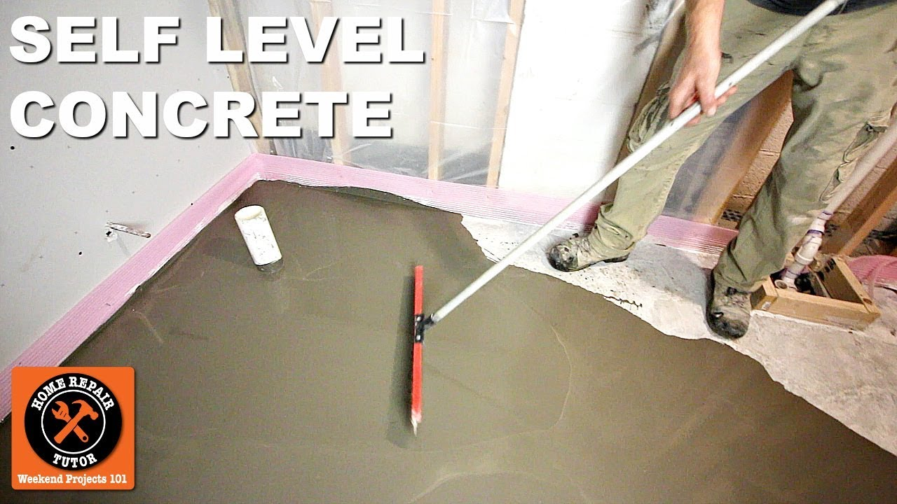 How To Self Level Bathroom Floors Part