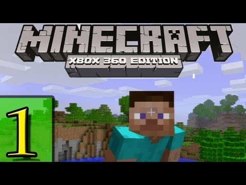 Let's Play Minecraft Xbox 360 Edition Part 1