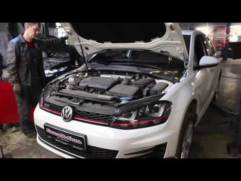 Volkswagen Golf замена масла