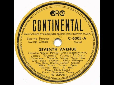 Seventh Avenue / Charlie Parker On Continental