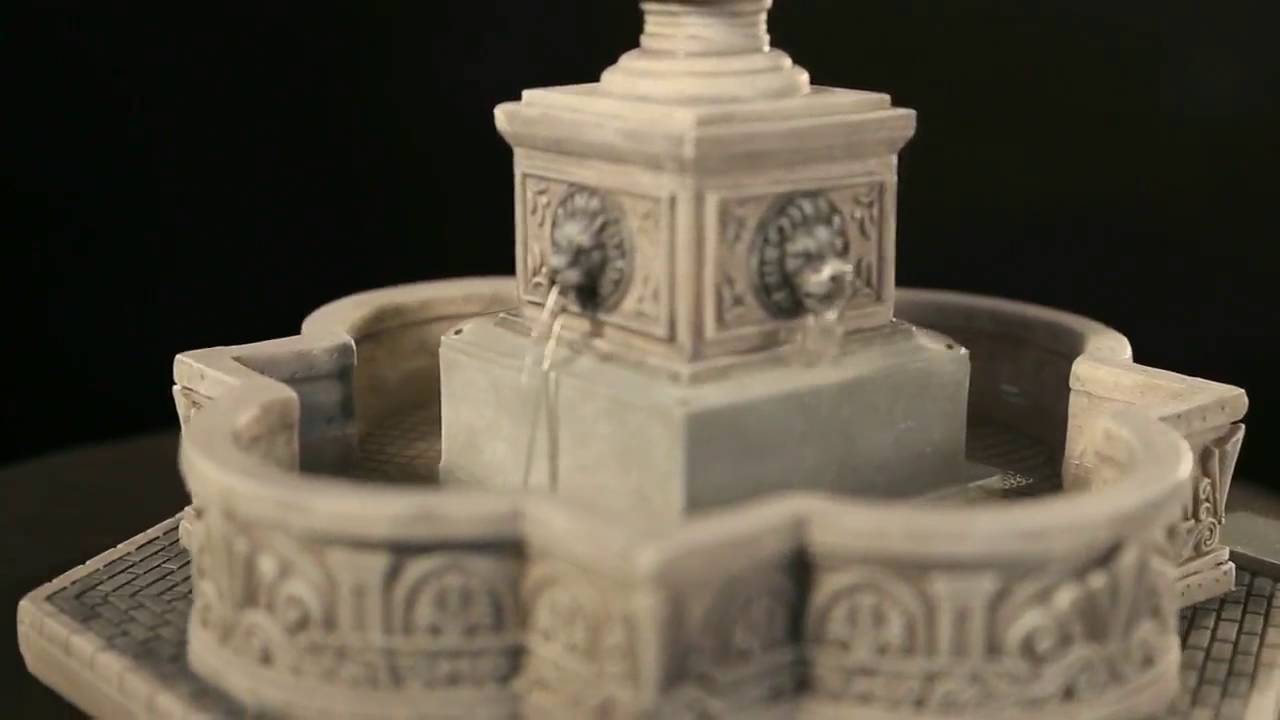 Water Fountain Lemax