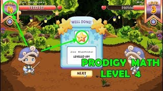 Prodigy Math Game Student | ¡¡GO!! LEVEL 4 | Prodigy PART 2 - Games For Childrens