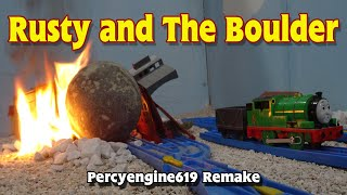 Tomy Rusty and The Boulder