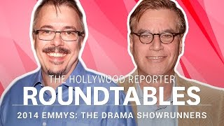 Aaron Sorkin, Matthew Weiner and more Drama Showrunners on THR's Roundtable | Emmys 2014