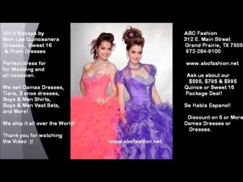 Prettiest Quinceanera Dresses, Prom Dress & Ball Gowns by Mori Lee ...