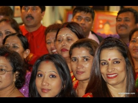 """www.enepalese.com-""""Teej"""" Celebration in Nepal Government's  Honorary Consulate's Office, Baltimore"""