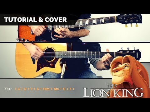 The Lion King - Circle of life Cover Lyrics and Chords Easy guitar