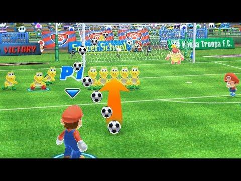 Mario Sports Superstars  Gameplay Tournament Football Part 1