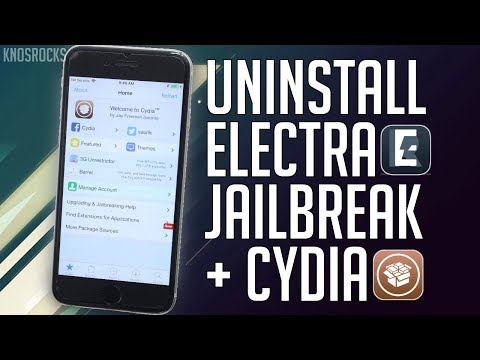 How To Remove iOS 11.3.1 Electra Jailbreak + Delete Cydia unJailbreak Keep All Data No Update