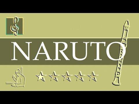 Recorder Notes Tutorial - Naruto - Sadness and Sorrow (Sheet Music)