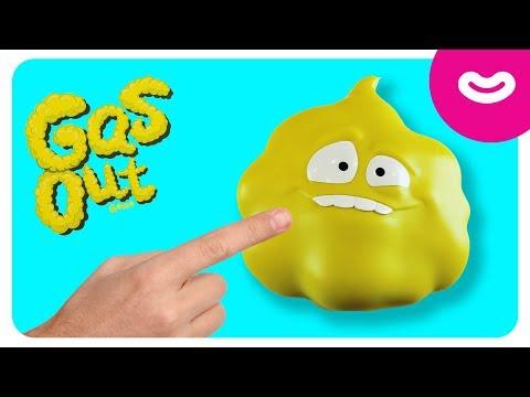 GAS OUT Челленж - Кто съест мармеладного червяка? 🐛 Обзор настольной игры для детей от Бі!