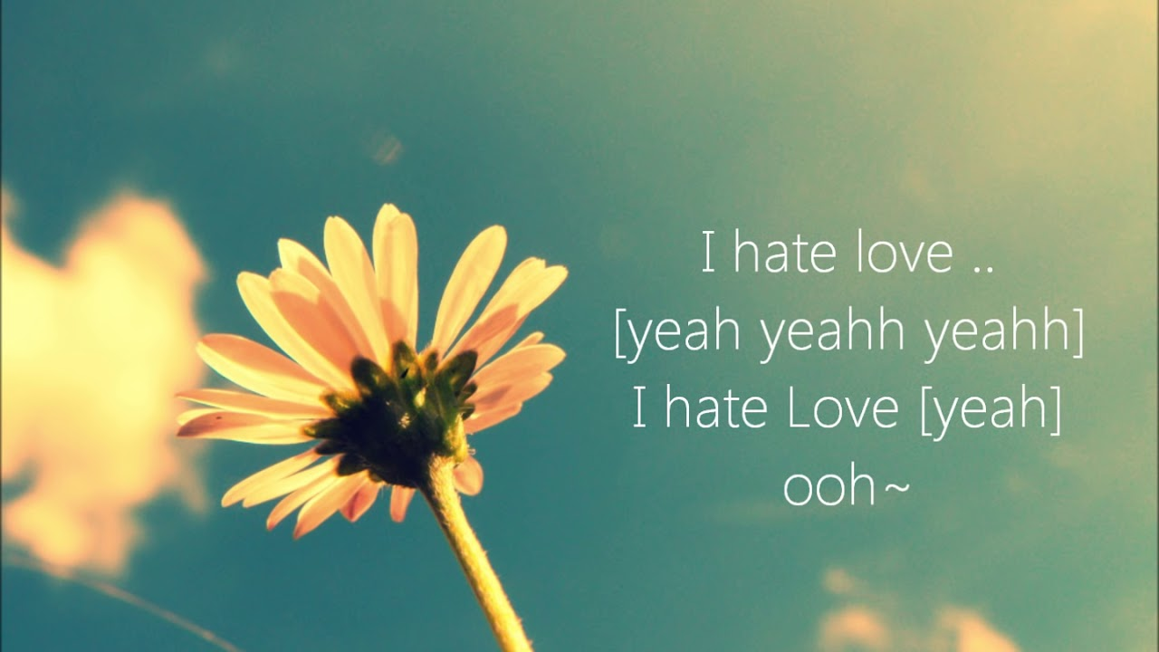 Claude Kelly – I hate Love [HD] [Lyrics]