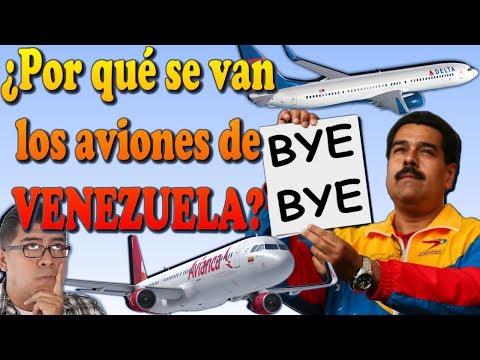 ¿POR QUÉ SE VAN LOS AVIONES DE VENEZUELA?. (#73)