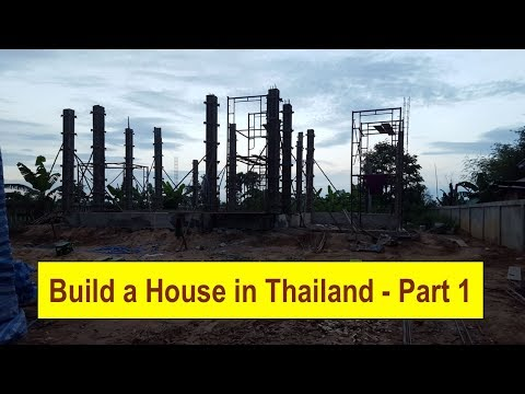 *** Thailand - Isaan House Build Project - Part 1 ***