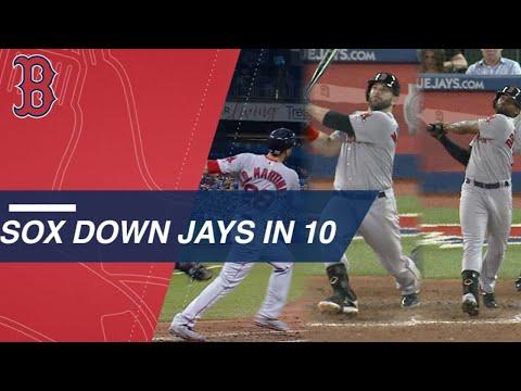 JD Martinez, Moreland, and JBJ all homer vs Blue Jays