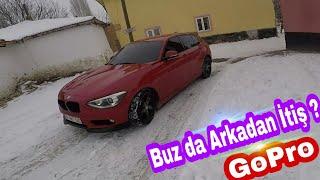 Kar 'da Kalan Arabalar | BMW 1.16i ve Citroen C5 - Sürpriz Sonuç