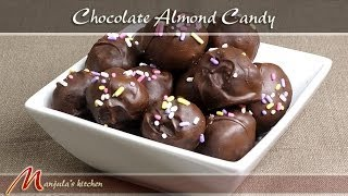 Chocolate Almond Candy Recipe By Manjula