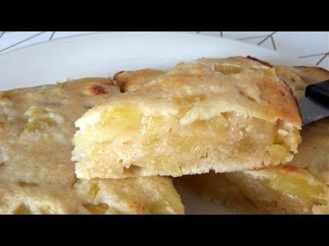 recette-gÂteau-a-l'ananas-sans-Œufs-sans-beurre-/-3-ingrÉdients-/-ultra-rapide-et-facile