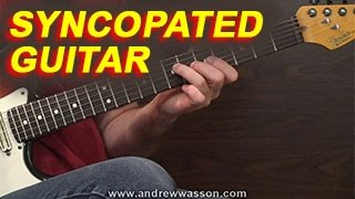Syncopated Melody and Rhythm Guitar