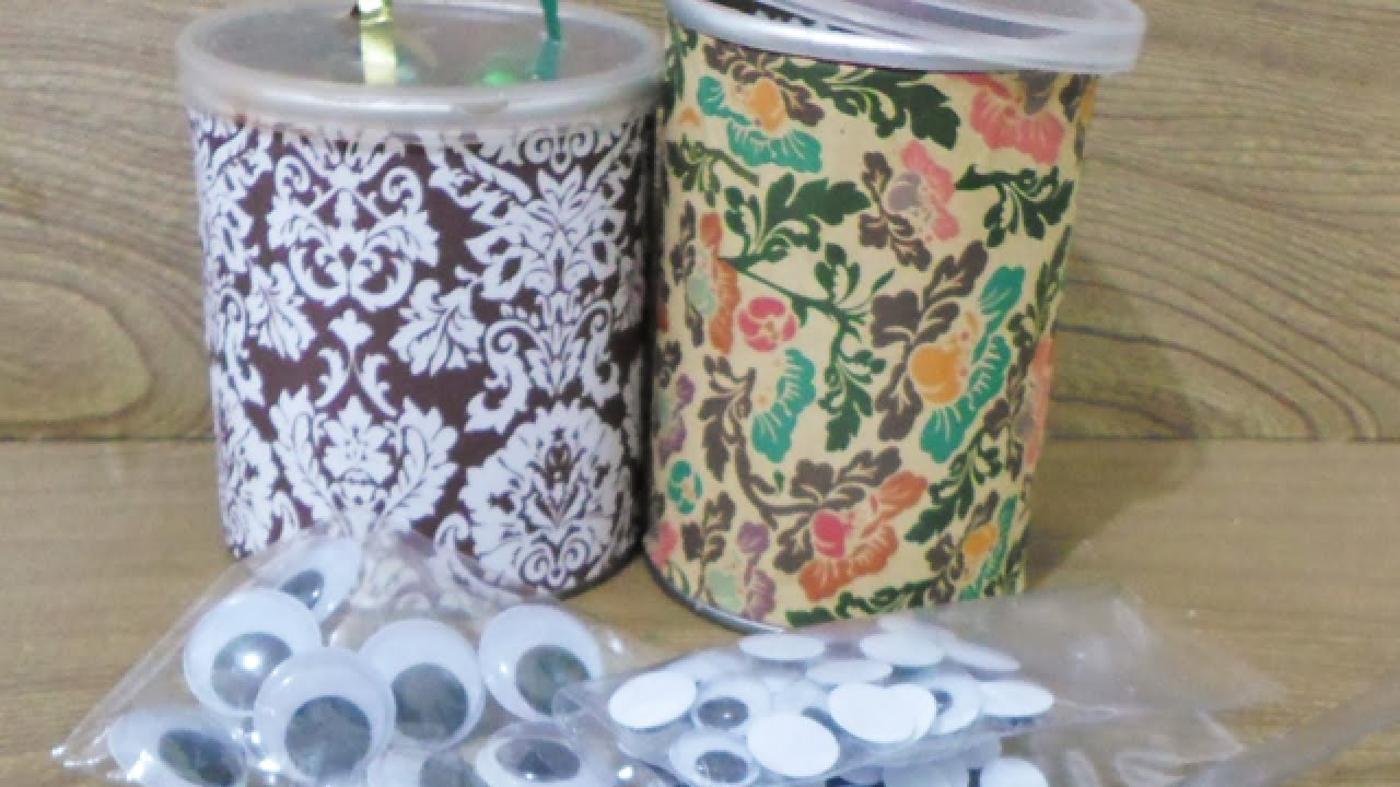 How To Make Cute Pringle Can Art Supply Containers Diy Home Tutorial Guidecentral You