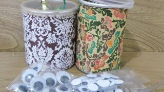 How To Make Cute Pringle Can Art Supply Containers - Diy Home Tutorial - Guidecentral