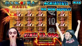 SLOT ONLINE - VINTI 13.000€💰 BOOK OF RA MAGIC [fino a BET MAX]  | 😷Schiattati ma non sepolti | #28