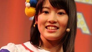 さしこもビックリ、前田敦子に声が激似の岡部麟... 「プリウスPHV」新CM発表会(2) #Rino Sashihara #Japanese Idol thumbnail