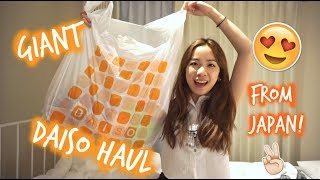 Download GIANT DAISO 100 YEN HAUL FROM JAPAN! HARAJUKU DOLLAR STORE 😍 Mp3 and Videos
