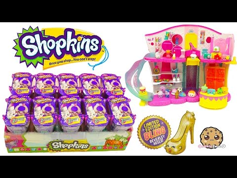 10 Shopkins Fashion Spree Surprise Blind Bags Box Unboxing Cookieswirlc Video