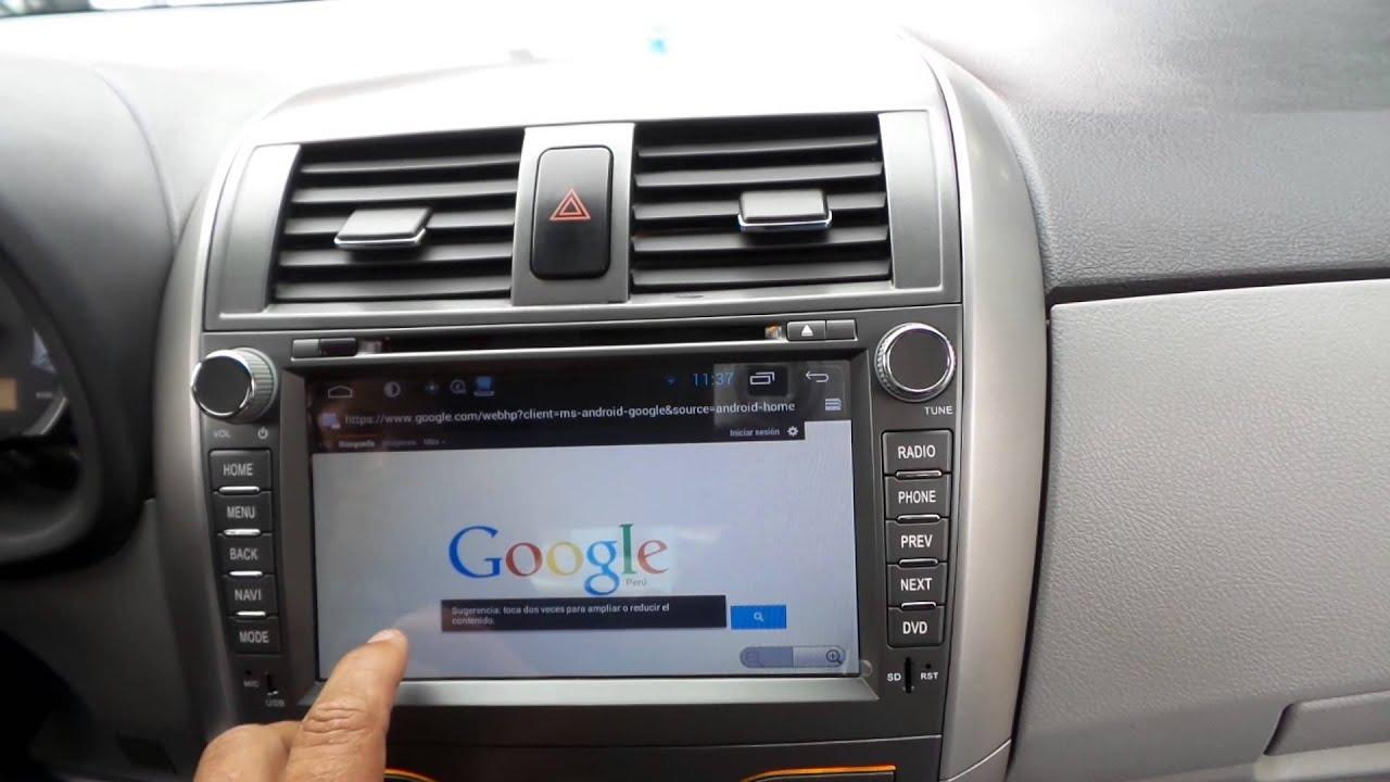 Toyota West Statesville Radio Toyota Corolla 2013 Android Youtube