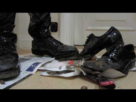 Getting my dress shoes muddy - Part 3