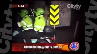 Asesinato en Tunjuelito  CityTv   Arriba Bogotá  Febrero 1