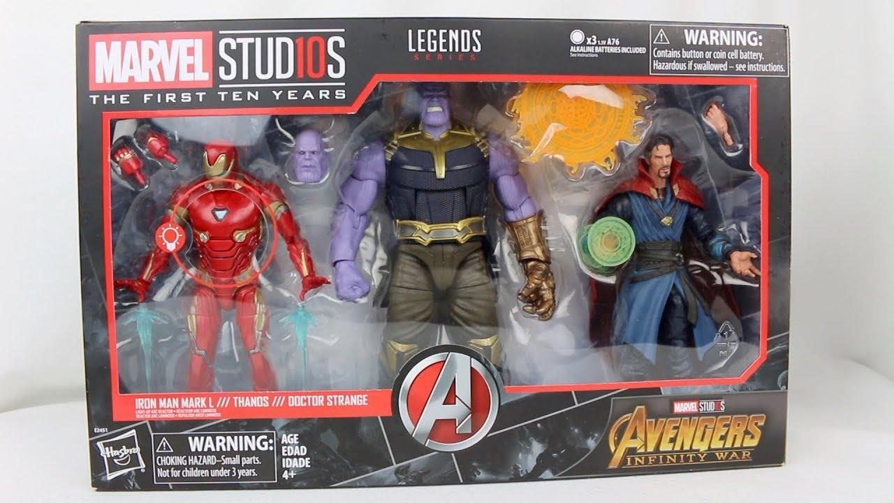 Iron Man Mark L Marvel Legends Infinity War 10th year Studio loose figure Hasbro