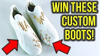 GIVING AWAY A BUNCH OF FREE FOOTBALL BOOTS!