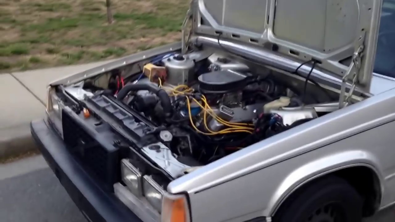 V8 SWAPPED VOLVO 760 WALK-AROUND!