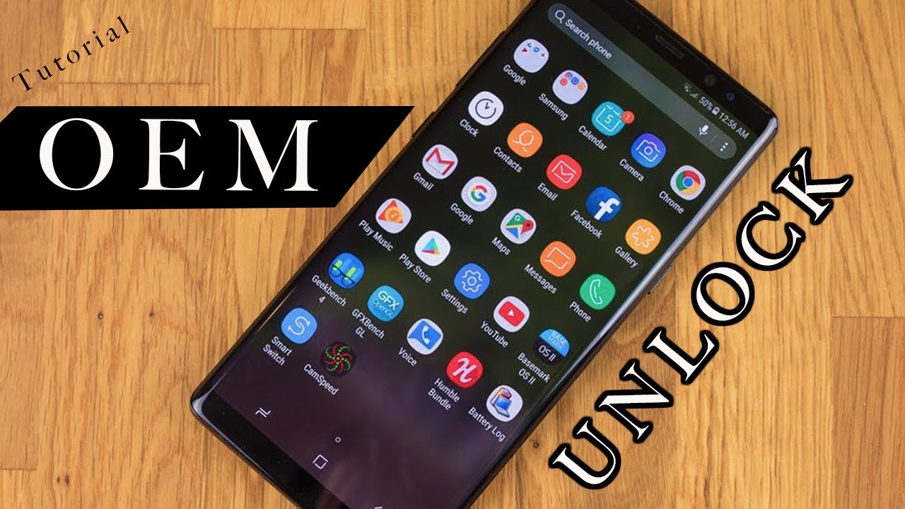 OEM Unlock for Samsung S8 Plus before ROOT - 🔥Must Watch🔥 - tutorial