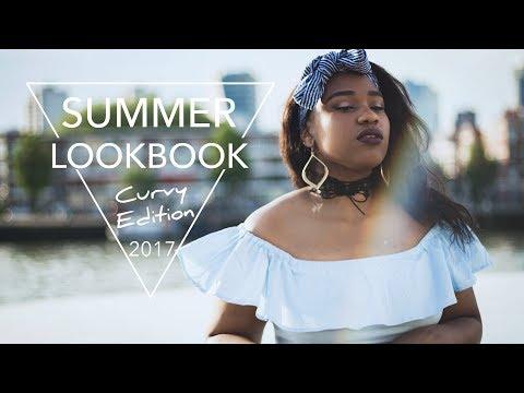 Curvy Girl Summer Lookbook Outfit Ideas | Thicc girl curvy Lookbook. http://bit.ly/2Xc4EMY