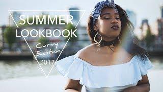 Curvy Girl Summer Lookbook Outfit Ideas | Thicc girl curvy Lookbook