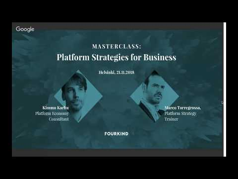 Webinar: Platform Economy - The 4 Key Business Models Mp3