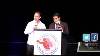 International Boxing Hall of Fame Banquet of The Champions