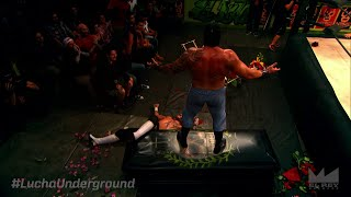 Lucha Underground 3/18/15: Grave Consequences - FULL FIGHT